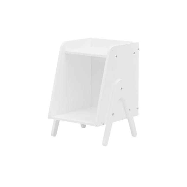 Nizu Kids Side Table - White - 0