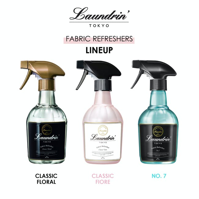 Laundrin Fabric Refresher 370ml - Classic Floral - 6