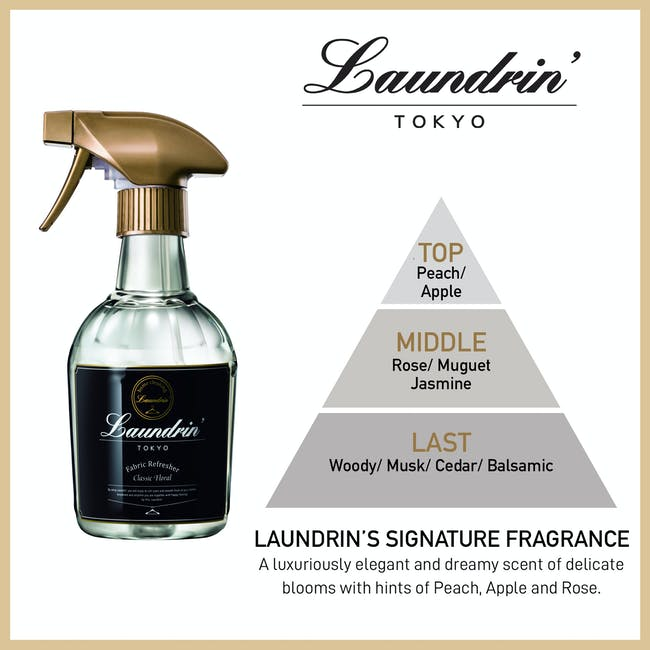 Laundrin Fabric Refresher 370ml - Classic Floral - 2