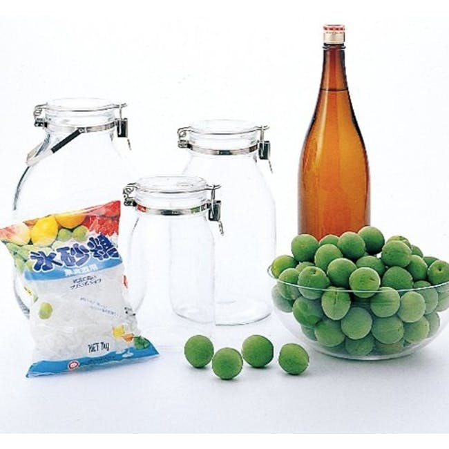 Cellarmate Airtight Glass Container (4 Sizes) - 4