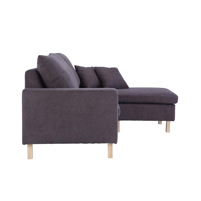 Rico L-Shaped Sofa - Brown - 7