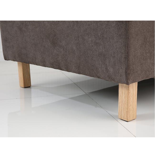 Rico L-Shaped Sofa - Brown - 3