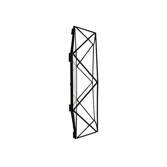 Prisma Mirror/Tray 57 x 43 cm - Black - 3