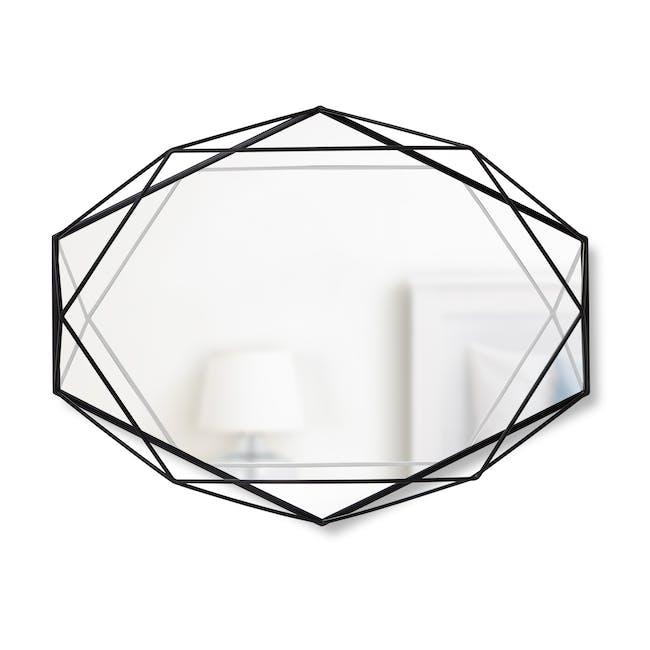 Prisma Mirror/Tray 57 x 43 cm - Black - 0