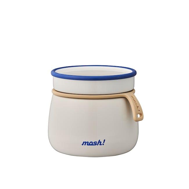 MOSH! Latte Food Pot 350ml - White - 0