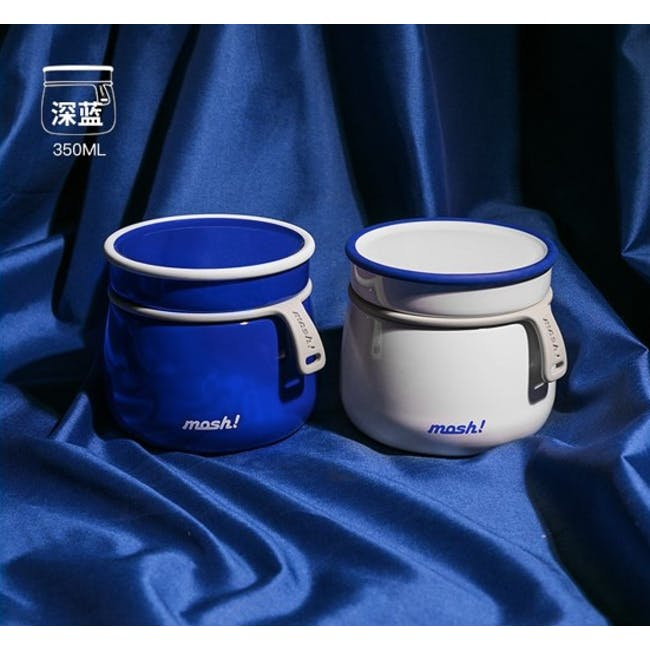 MOSH! Latte Food Pot 350ml - White - 5