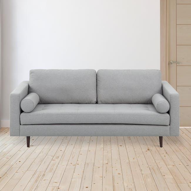 Nolan 3 Seater Sofa - Slate (Fabric) - 1
