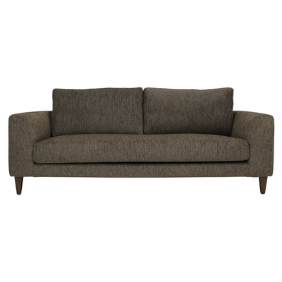 Leila 3 Seater Sofa - Rustic Brown - Image 1