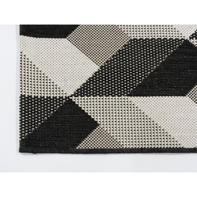 Essenza Flatwoven Rug 2.3m x 1.6m -  Ebony Arrow - 2