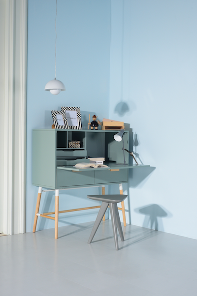 Arod Working Desk - Sage Green - Image 2