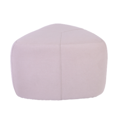 Cirrus High Triangle Pouf - Barley - Image 1