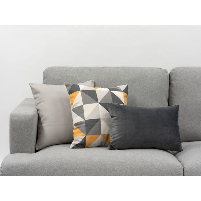 Trippy Cushion Cover - Mono - 1