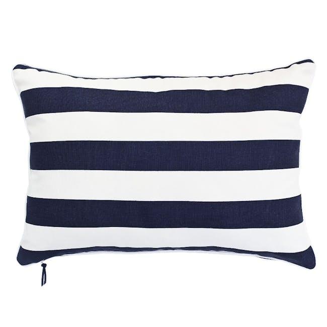 Rally Rectangle Cushion - Navy - 0