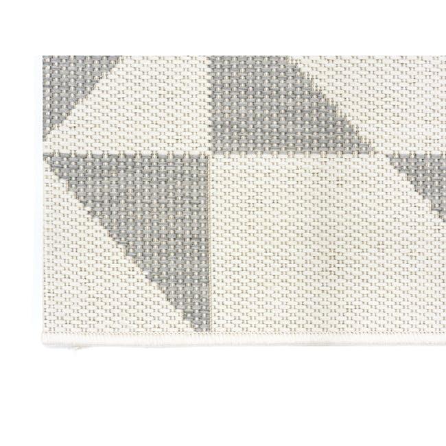 Essenza Flatwoven Rug 1.7m x 1.2m - Sliver Geo - 3