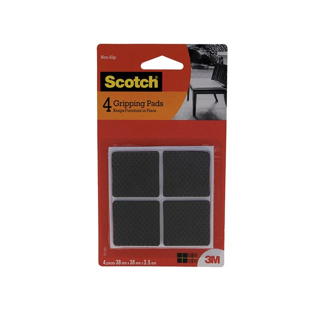 Scotch Square Gripper Pads - 1