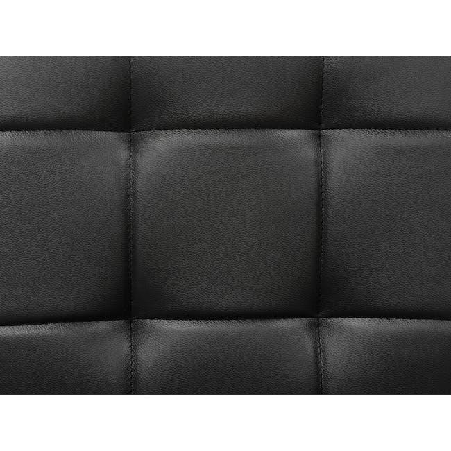 Tucson Armchair - Cocoa, Espresso (Faux Leather) - 9
