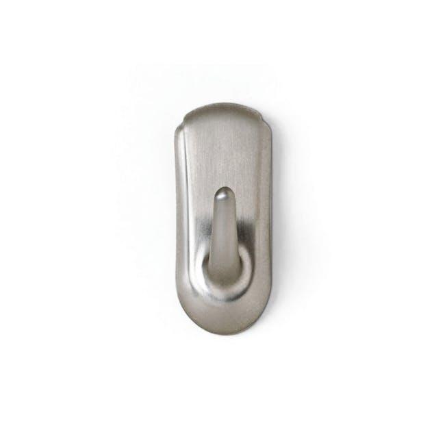 Command™ Accent Medium Hook - Brushed Nickel - 0