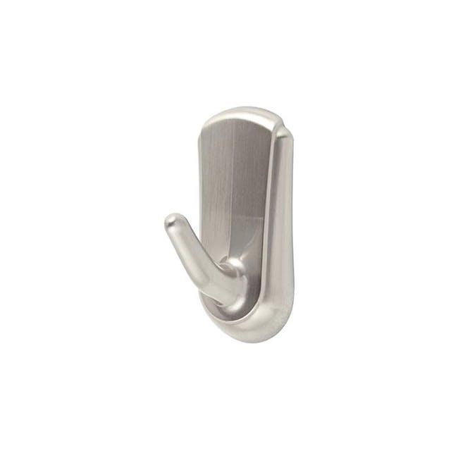 Command™ Accent Medium Hook - Brushed Nickel - 1