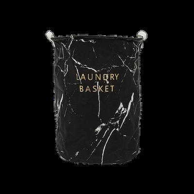 Marble Laundry Basket - Black - Image 2