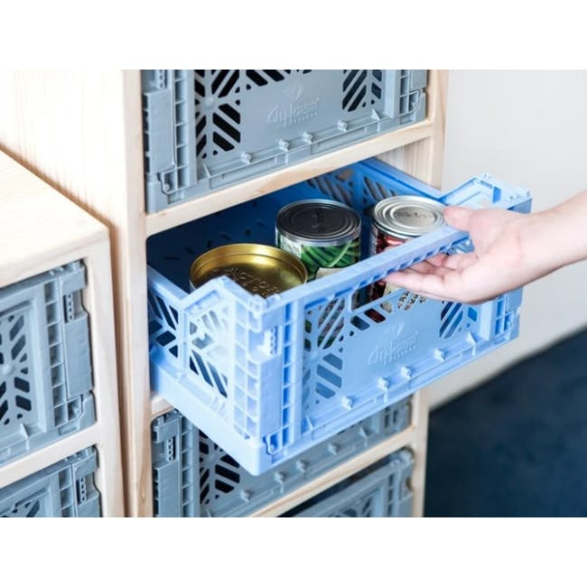 Aykasa Foldable Midibox - Baby Blue - 1