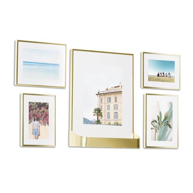 Matinee Photo Display Set - Brass (Set of 5) - 3