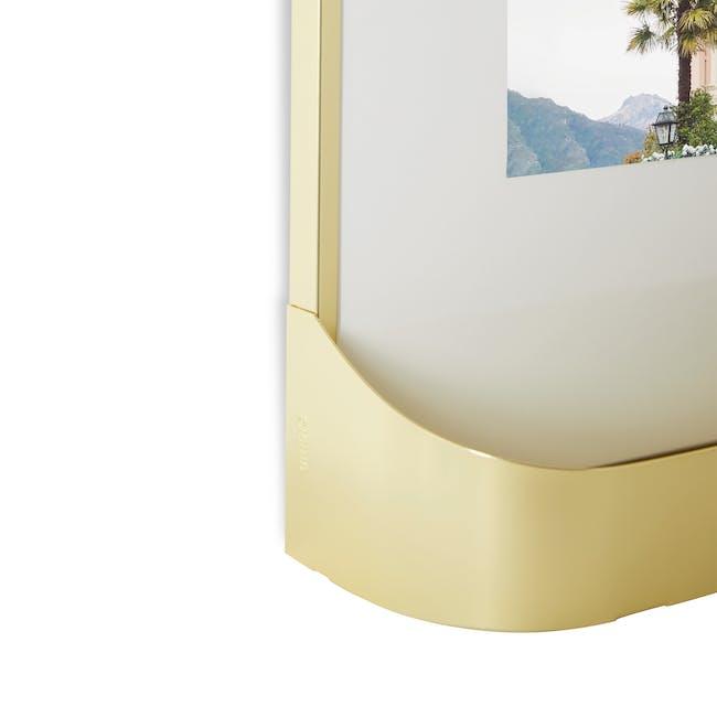 Matinee Photo Display Set - Brass (Set of 5) - 6