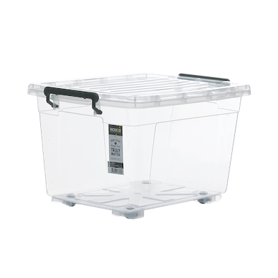 37L Storage Box with Wheels - Image 1