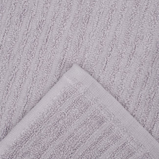 EVERYDAY Bath Towel & Face Towel - Lilac (Set of 4) - 3