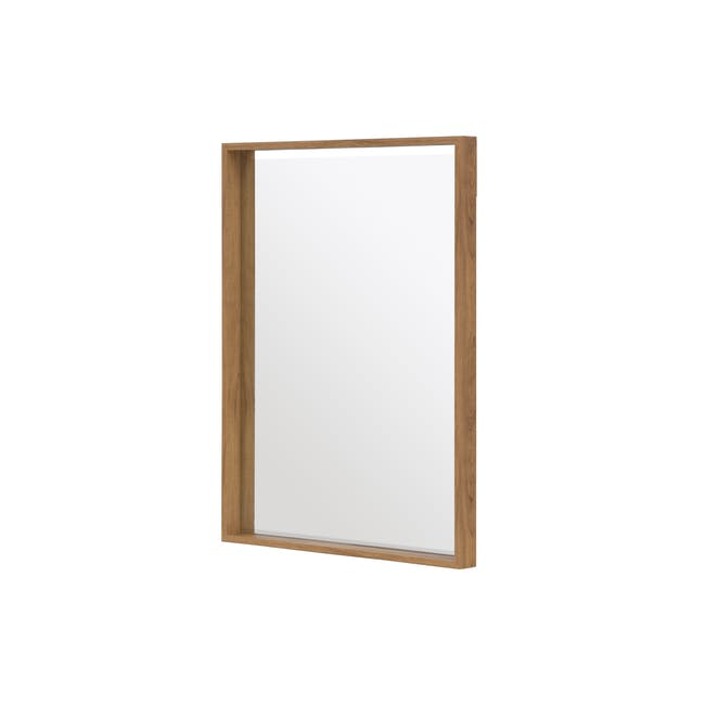 Julia Half-Length Mirror 60 x 80 cm - Oak - 1