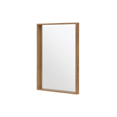 Julia Half-Length Mirror 60 x 80 cm - Oak - Image 1