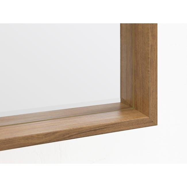 Julia Half-Length Mirror 60 x 80 cm - Oak - 2