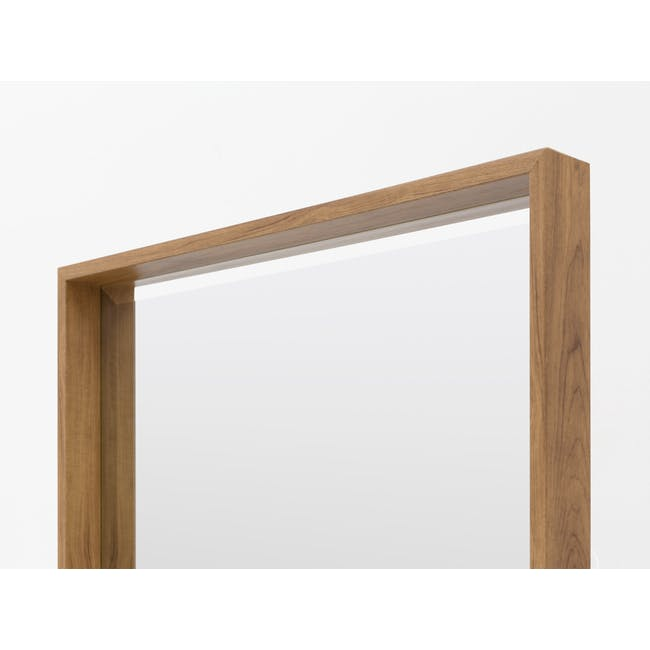 Julia Half-Length Mirror 60 x 80 cm - Oak - 3