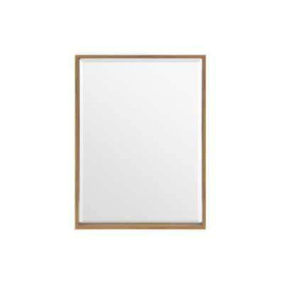 Julia Half-Length Mirror 60 x 80 cm - Oak - Image 2