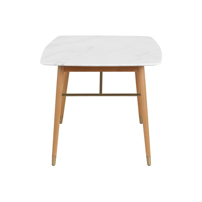 (As-is) Hagen Marble Dining Table 1.8m - 4 - 25