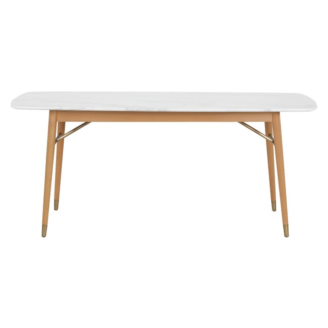 (As-is) Hagen Marble Dining Table 1.8m - 4 - 24