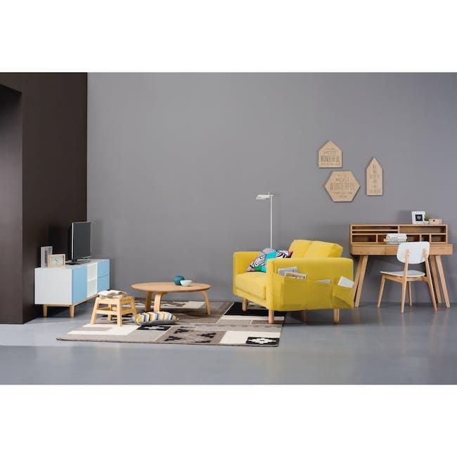 Minex 2 Seater Sofa - Twilight - 3