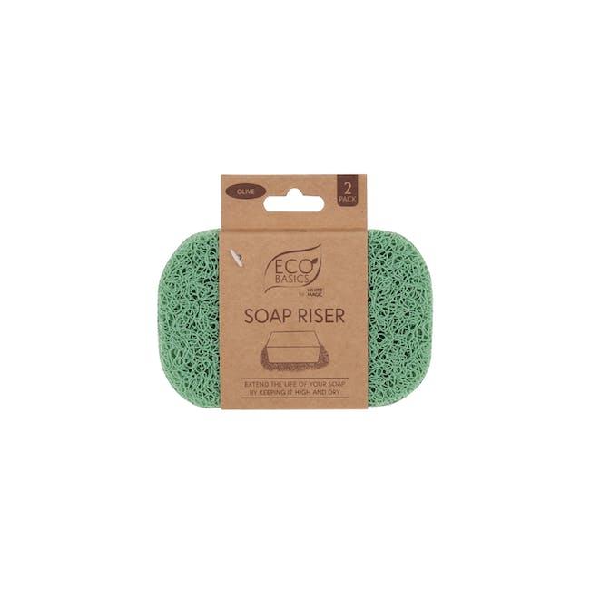 Soap Riser - Olive - 3