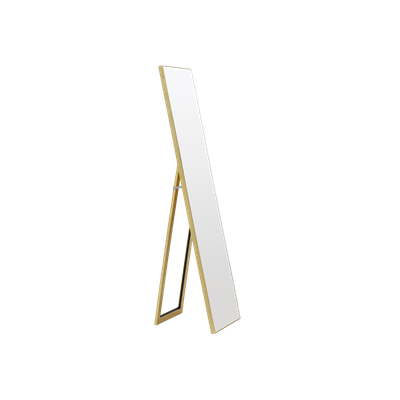 Zoey Standing Mirror 39 x 156 cm - Brass - Image 1