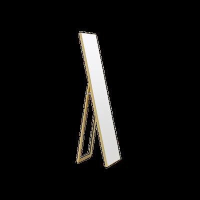 Zoey Standing Mirror 30 x 150 cm - Brass - Image 1