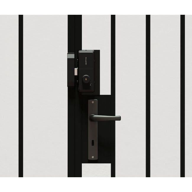 igloohome Rim Lock with Push-Pull Mortise - 1