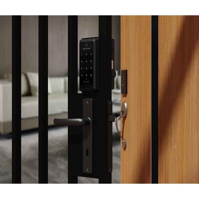igloohome Rim Lock with Push-Pull Mortise - 3