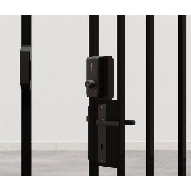 igloohome Rim Lock with Push-Pull Mortise - 5