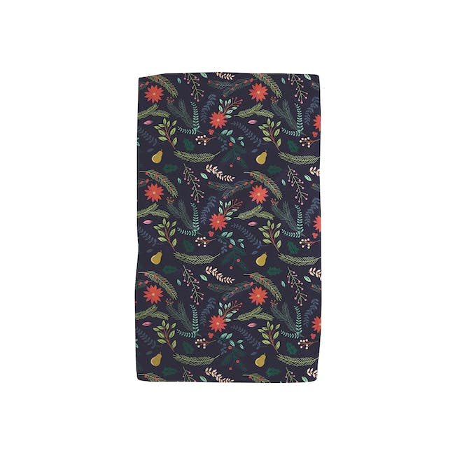 Geometry Tea Towel - Branches Pear Blue Kitchen - 0