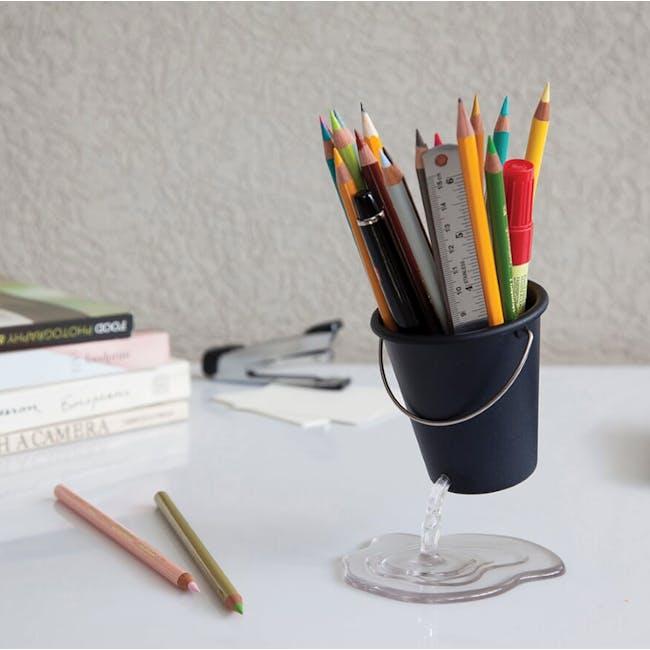 PELEG DESIGN Desk Bucket Floating Container - Black - 1