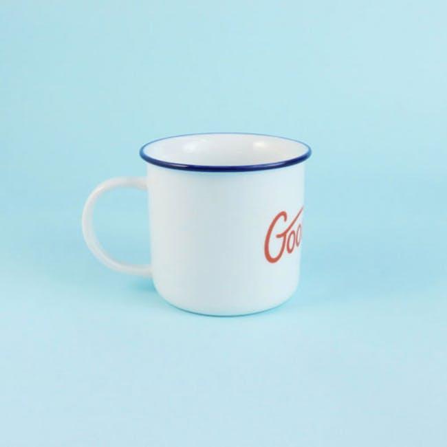 Red Republic Good Morning Mug - 5