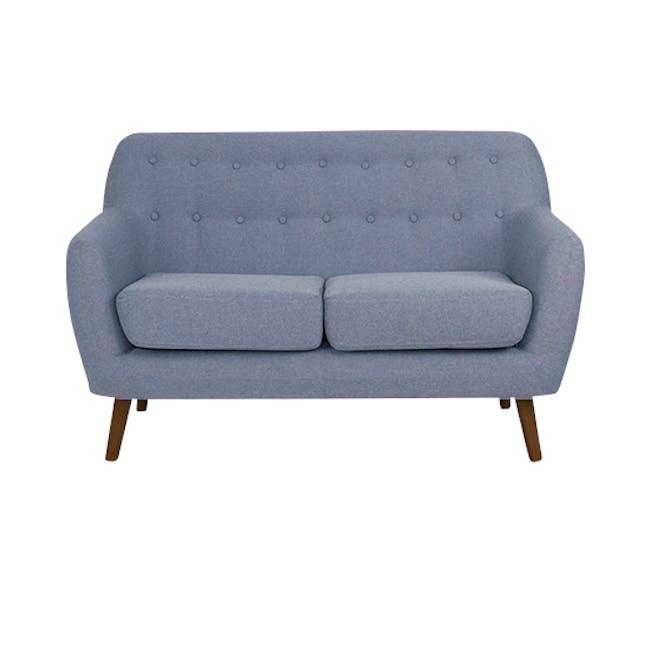 Emma 2 Seater Sofa - Dusk Blue - 0