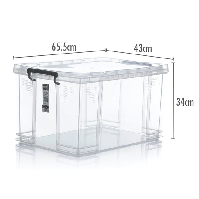 HOUZE Strong Box with Lid - 65L - 3