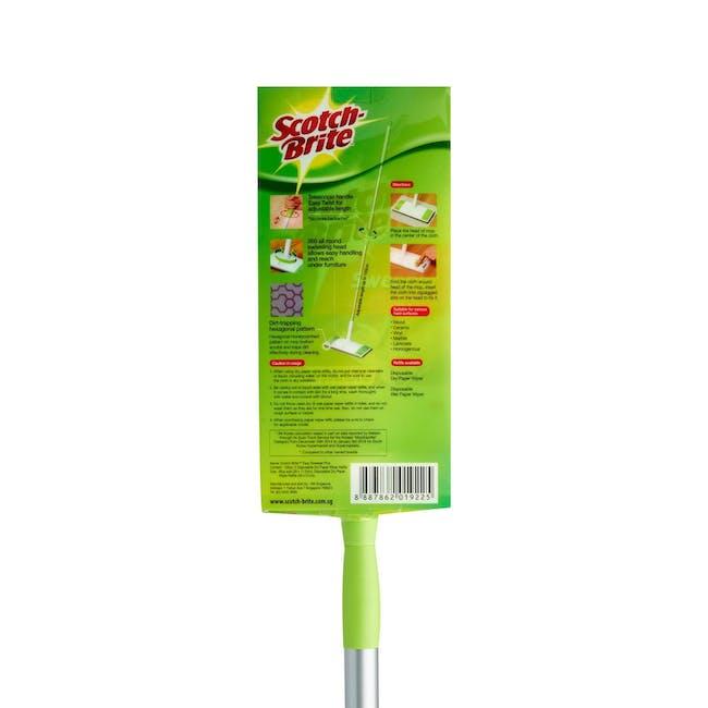 Scotch-Brite Easy Sweeper Plus Paperwiper Mop - 3