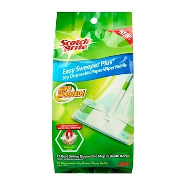 Scotch-Brite Easy Sweeper Plus Paperwiper Mop - 4