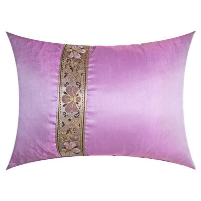Orient Oblong Cushion - Pink - Image 2